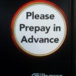 Money Saving Tip:  Prepay In Advance