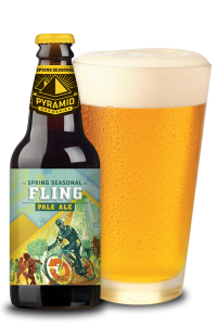 Beer Review:  Fling Pale Ale from Pyramid Breweries