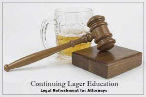 Beer for lawyers